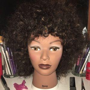 Accessories - 100% human hair manikin head